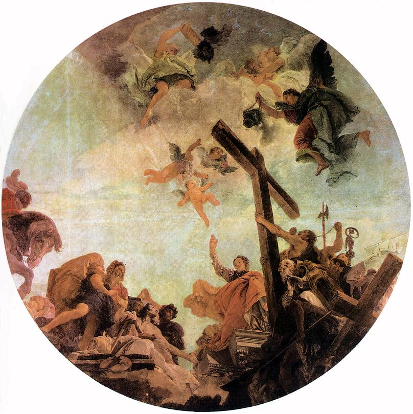 Discovery Of The True Cross 1745 | Giovanni Battista Tiepolo | Oil Painting