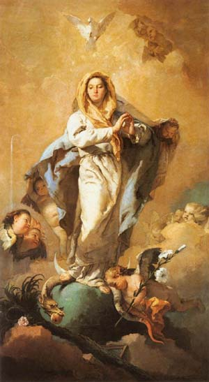 The Immaculate Conception | Giovanni Battista Tiepolo | Oil Painting