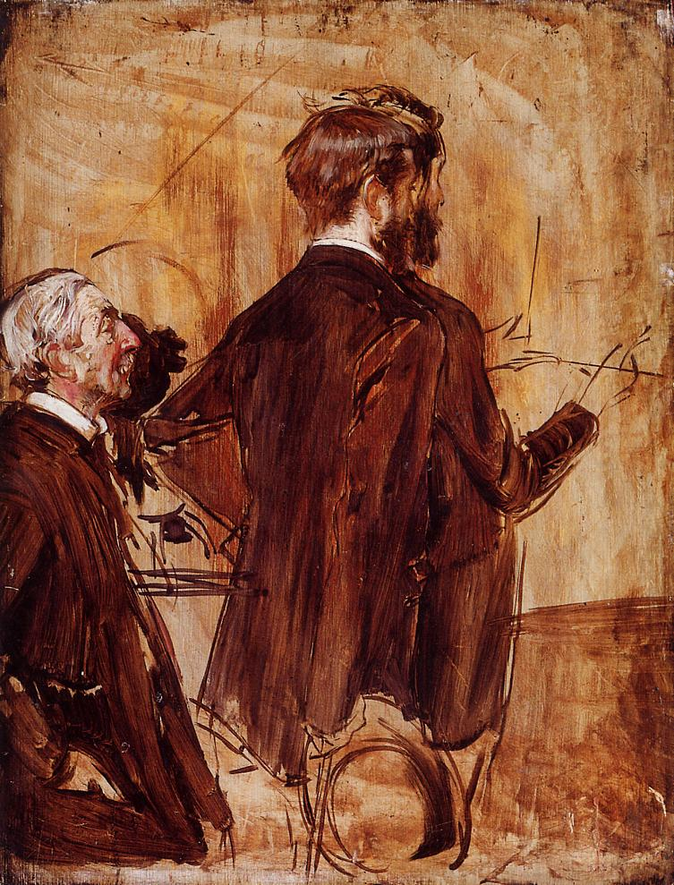 In the Studio | Giovanni Boldini | Oil Painting