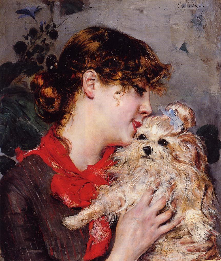 Madame Rejane (aka Gabrielle Rejane) 1885 | Giovanni Boldini | Oil Painting