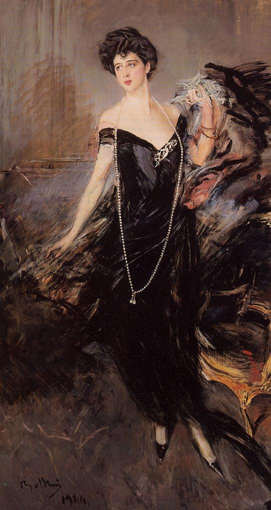 Portrait of Donna Franca Florio 1924 | Giovanni Boldini | Oil Painting