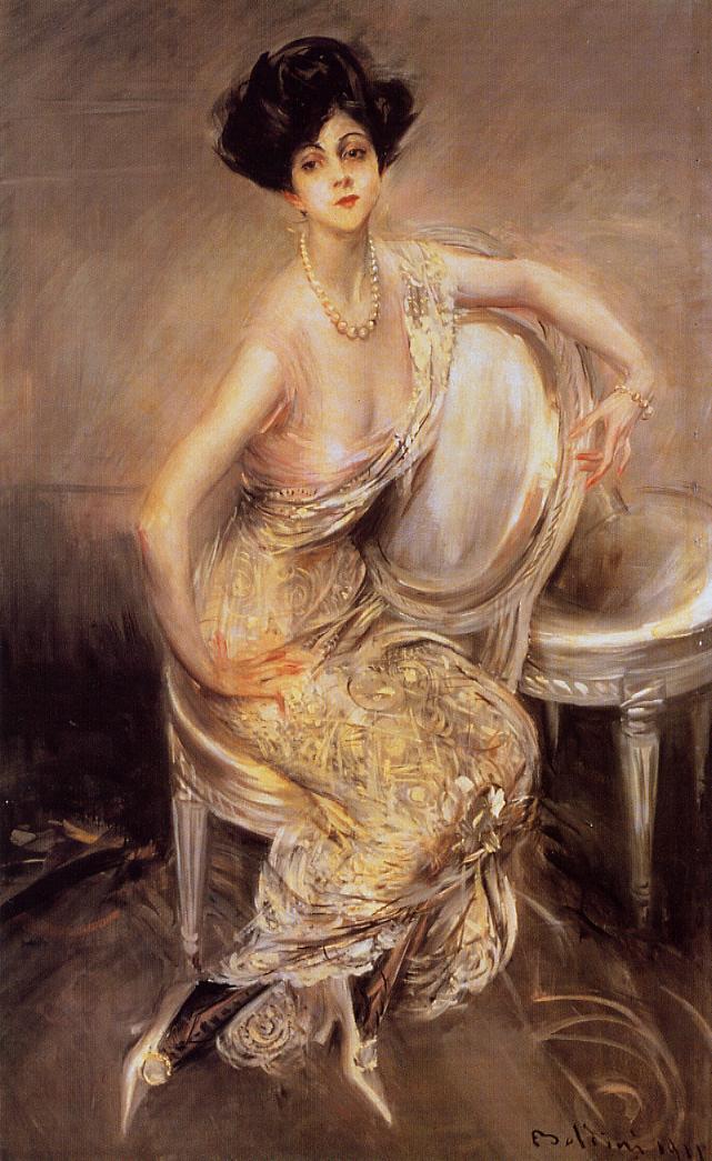 Portrait of Rita de Acosta Lydig 1911 | Giovanni Boldini | Oil Painting