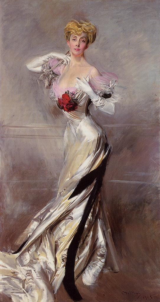 Portrait of the Countess Zichy 1905 | Giovanni Boldini | Oil Painting