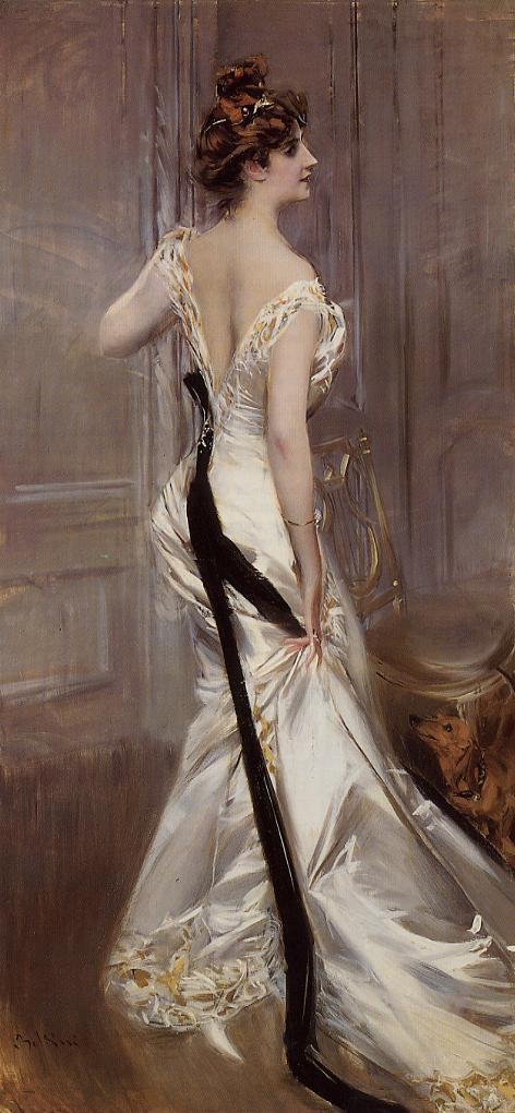 The Black Sash 1905 | Giovanni Boldini | Oil Painting