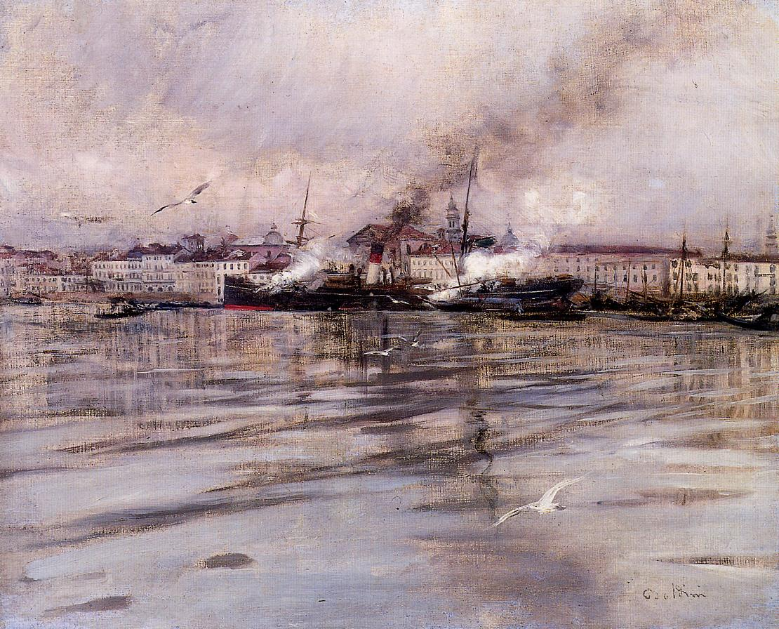View of Venice 1895 | Giovanni Boldini | Oil Painting