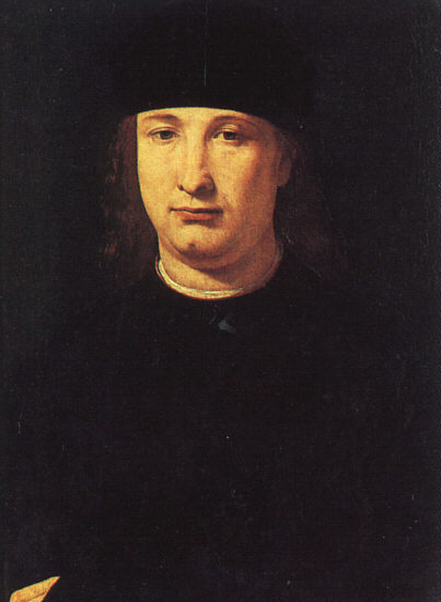 The Poet Casio 1490-1500 | Giovanni Boltraffio | Oil Painting
