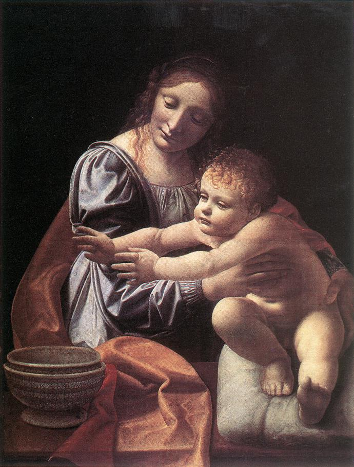 The Virgin And Child 1490s | Giovanni Boltraffio | Oil Painting