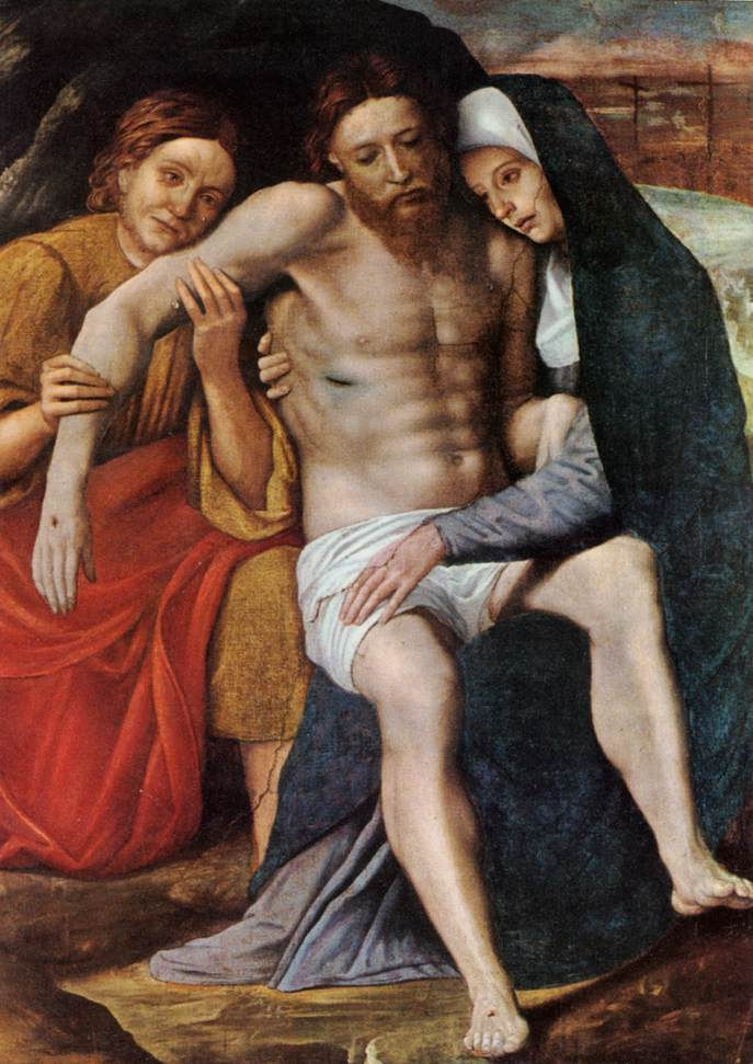 Deposition Of The Tears | Giovanni Francesco Caroto | Oil Painting