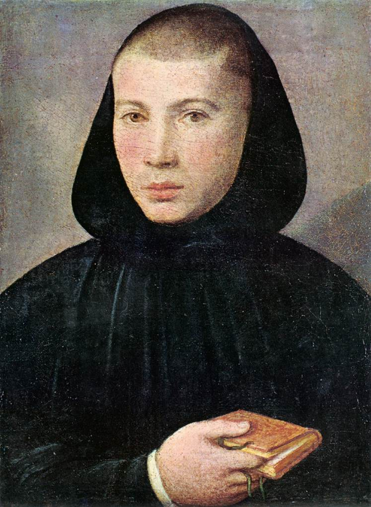 Portrait Of A Young Benedictine | Giovanni Francesco Caroto | Oil Painting