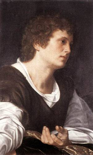 Bust Of A Youth 1530 | Giovanni Grolamo Savoldo | Oil Painting