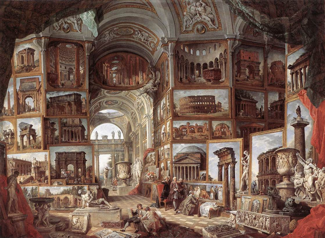 Roma Antica 1755 | Giovanni Paolo Pannini | Oil Painting