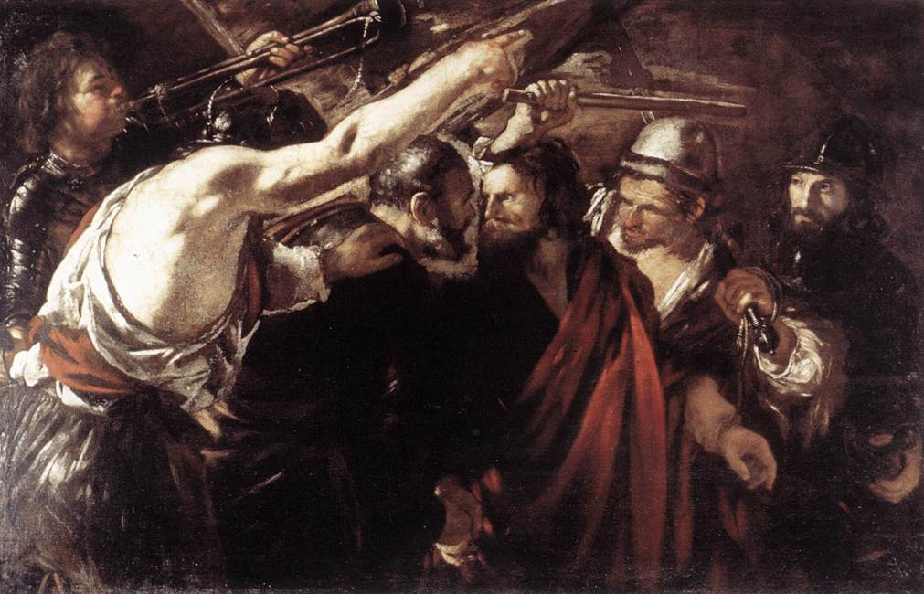 Parting of St Peter and Paul Led to Martyrdom 1625-26 | Giovanni Sweodine | Oil Painting
