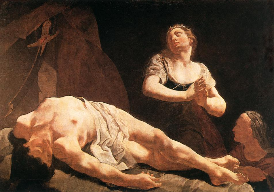 Judith And Holofernes 1730 | Giulia Lama | Oil Painting