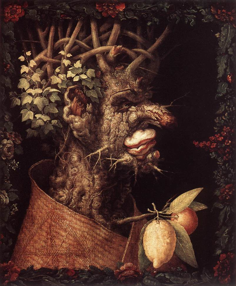 Winter 1573 | Giuseppe Arcimboldo | Oil Painting