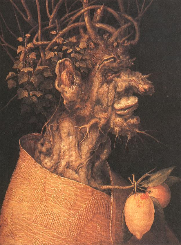 Winter 1563 | Giuseppe Arcimboldo | Oil Painting