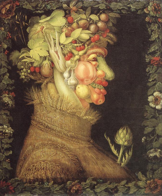 Summer 1573 | Giuseppe Arcimboldo | Oil Painting