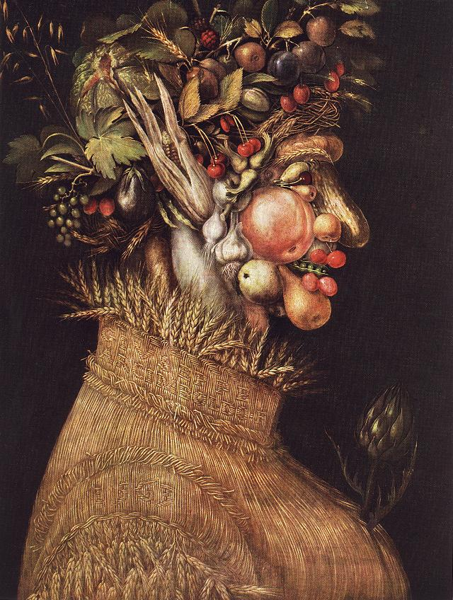 Summer 1563 | Giuseppe Arcimboldo | Oil Painting