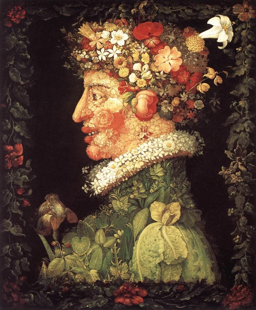 Spring 1573 | Giuseppe Arcimboldo | Oil Painting