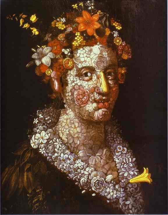 Flora 1591 | Giuseppe Arcimboldo | Oil Painting