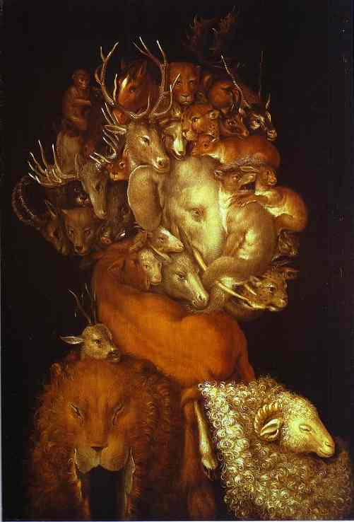 Earth 1570 | Giuseppe Arcimboldo | Oil Painting
