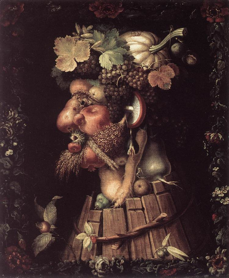 Autumn 1573 | Giuseppe Arcimboldo | Oil Painting