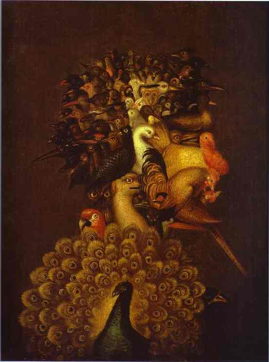 Air | Giuseppe Arcimboldo | Oil Painting