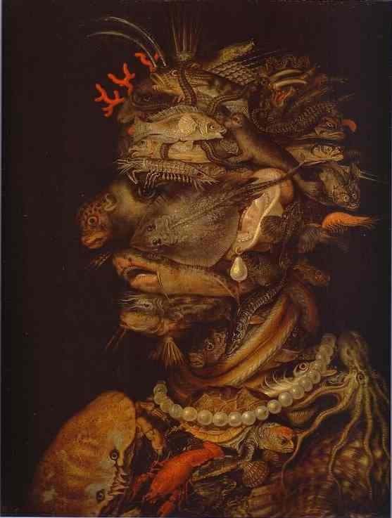 Water 1566 | Giuseppe Arcimboldo | Oil Painting