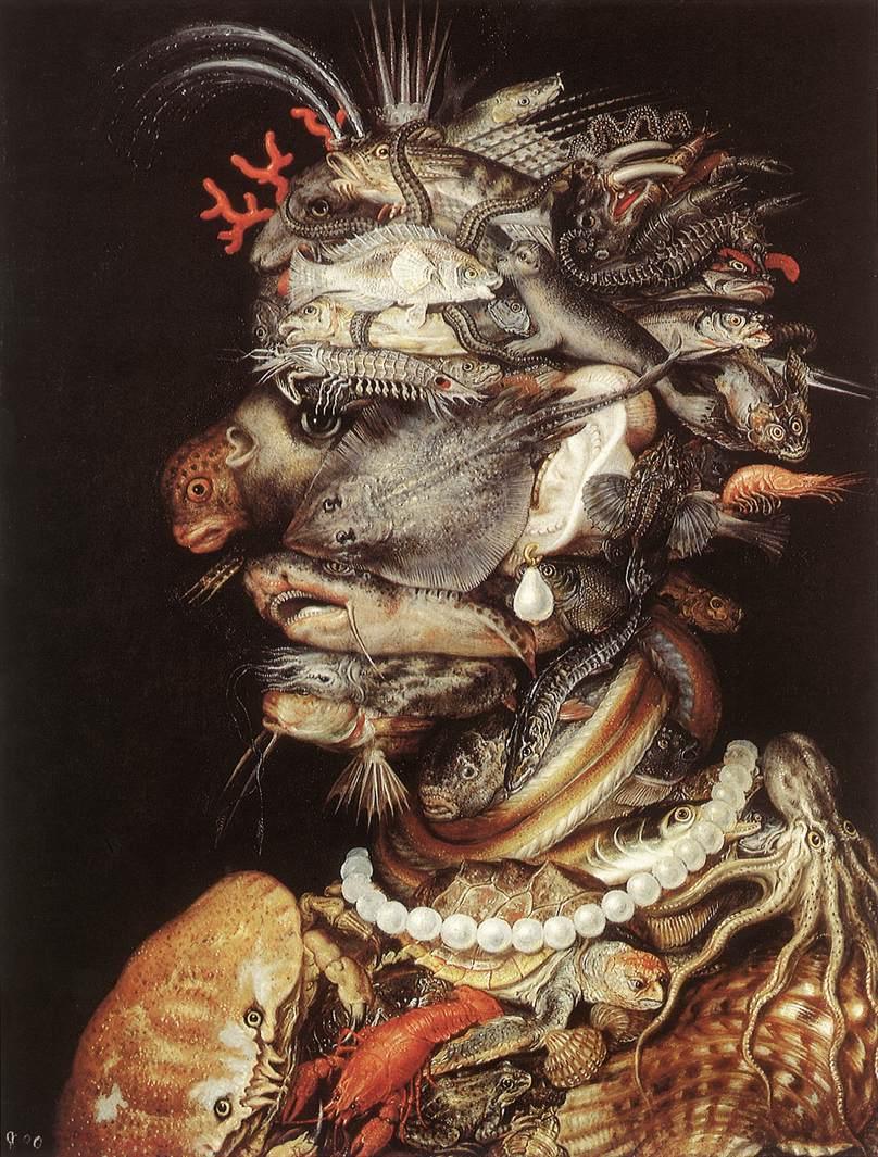 The Water 1563-64 | Giuseppe Arcimboldo | Oil Painting