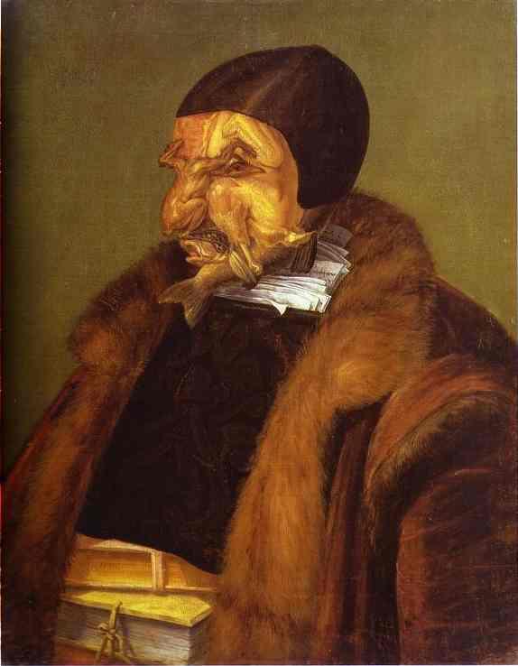 The Lawyer 1566 | Giuseppe Arcimboldo | Oil Painting