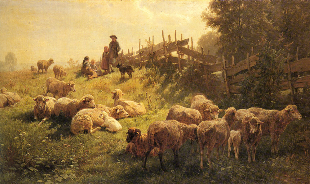 Near Obersdorf Bavaria | Gottlieb Daniel Paul Weber | Oil Painting