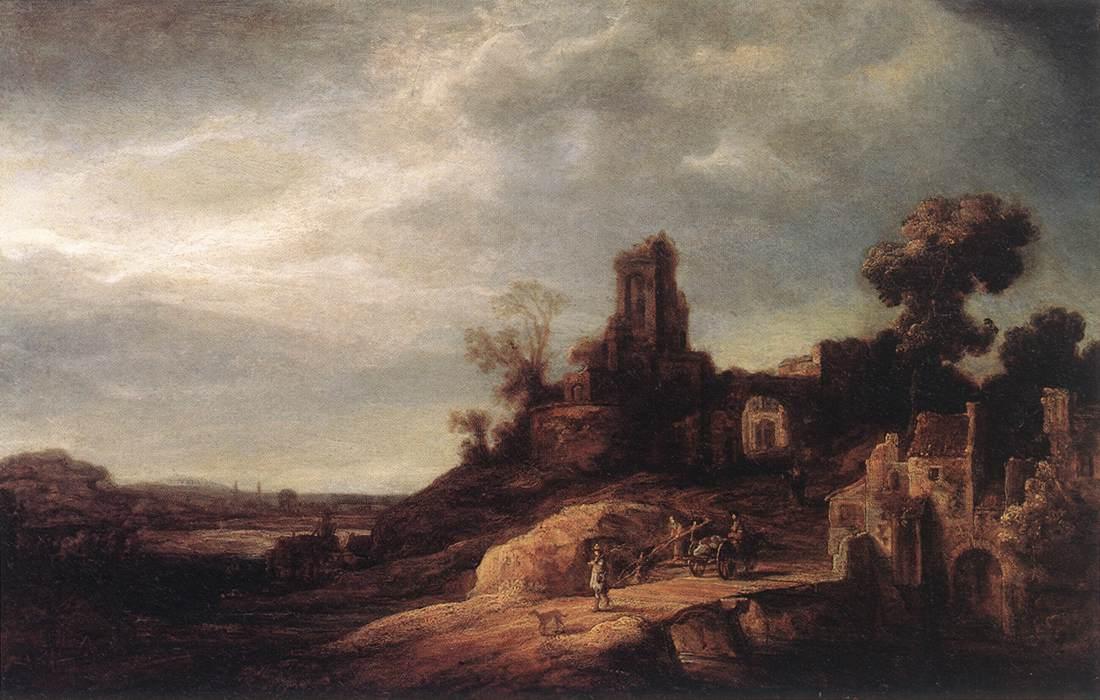 Landscape 1637 | Govert Teunisz Flinck | Oil Painting