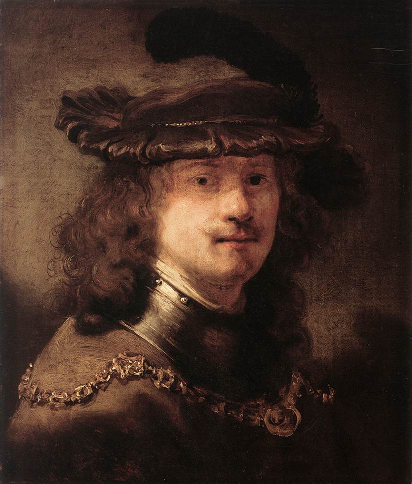 Portrait Of Rembrandt 1633-34 | Govert Teunisz Flinck | Oil Painting
