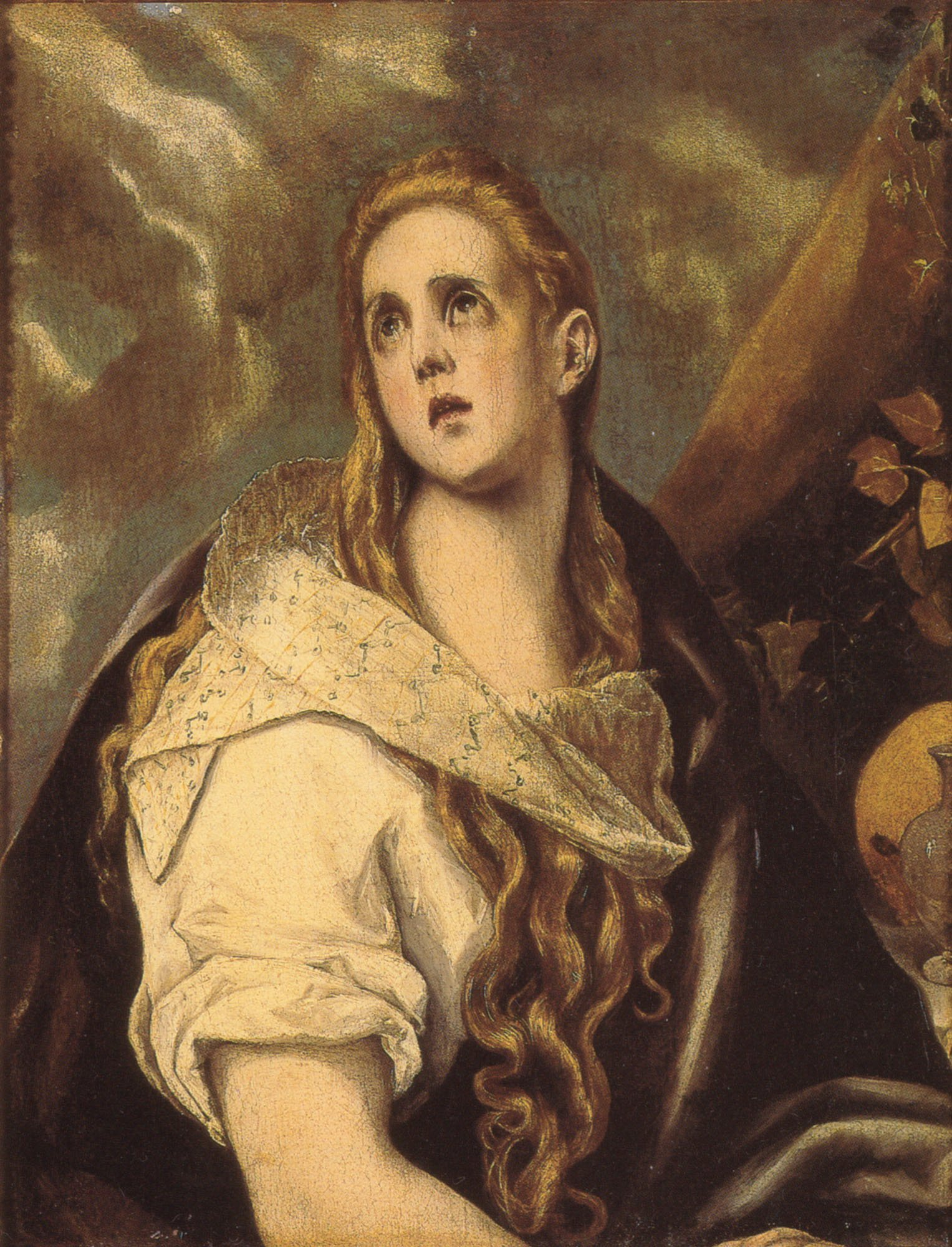 The Penitent Magdalen | Greco El | Oil Painting