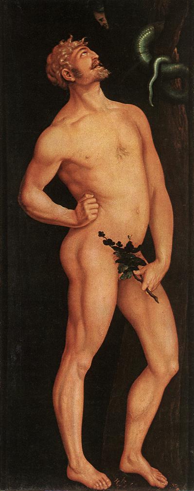 Adam 1524 | Grien Hans Baldung | Oil Painting