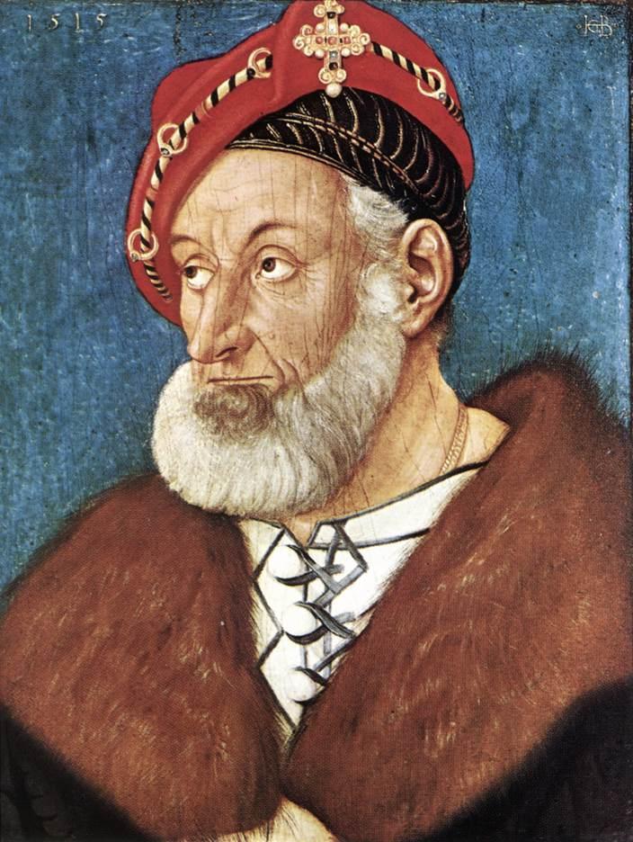 Count Christoph I Of Baden 1515 | Grien Hans Baldung | Oil Painting