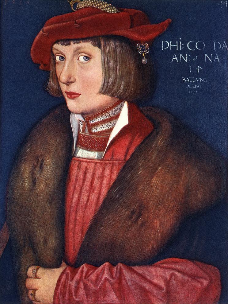 Count Philip 1517 | Grien Hans Baldung | Oil Painting