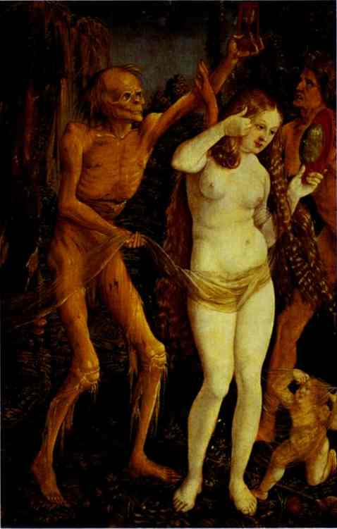 Death And The Maiden 1510 | Grien Hans Baldung | Oil Painting
