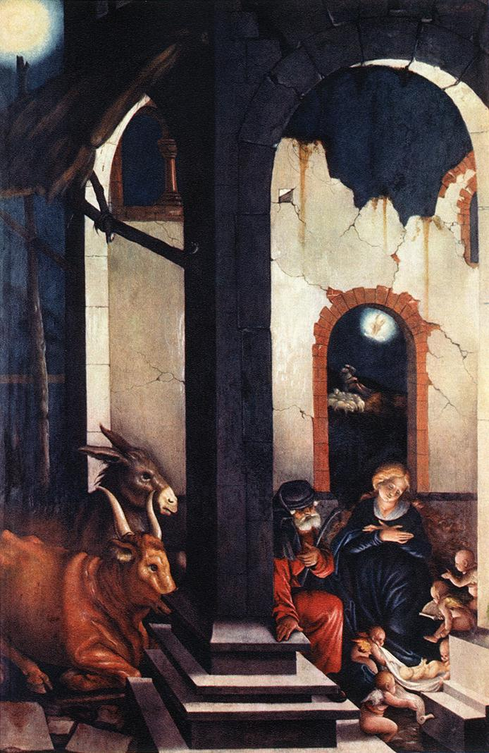 Nativity 1520 | Grien Hans Baldung | Oil Painting