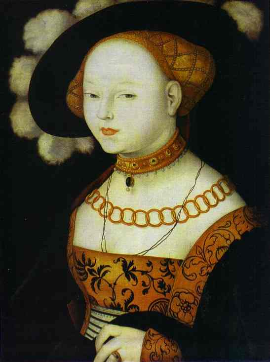 Portrait Of A Lady 1530 | Grien Hans Baldung | Oil Painting