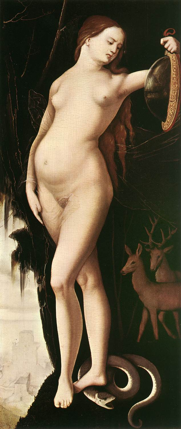Prudence 1529 | Grien Hans Baldung | Oil Painting
