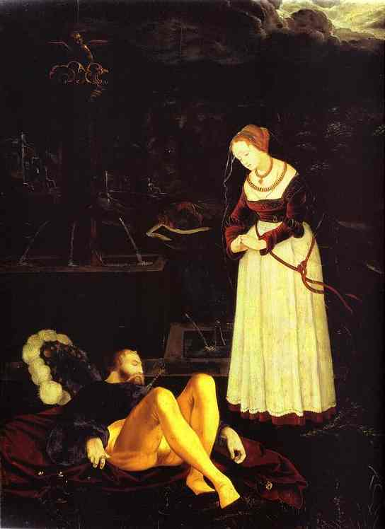 Pyramis And Thisbe 1530 | Grien Hans Baldung | Oil Painting