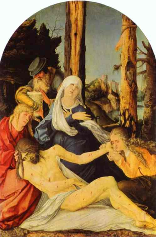 The Lamentation 1515 | Grien Hans Baldung | Oil Painting