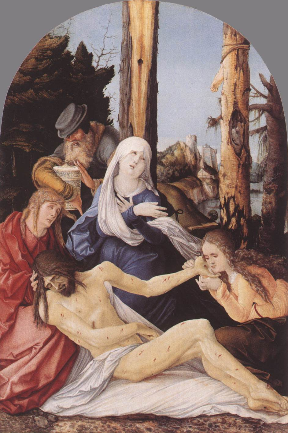 The Lamentation Of Christ 1518 | Grien Hans Baldung | Oil Painting