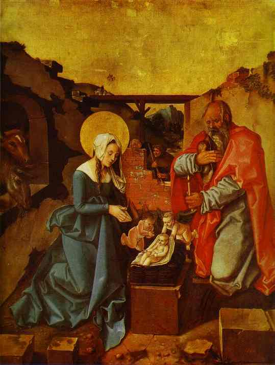 The Nativity 1510 | Grien Hans Baldung | Oil Painting