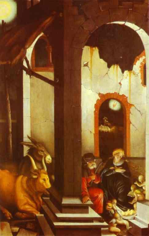 The Nativity 1520 | Grien Hans Baldung | Oil Painting