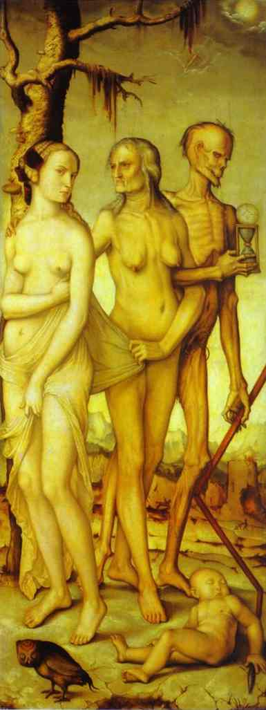 The Three Ages And Death 1510 | Grien Hans Baldung | Oil Painting