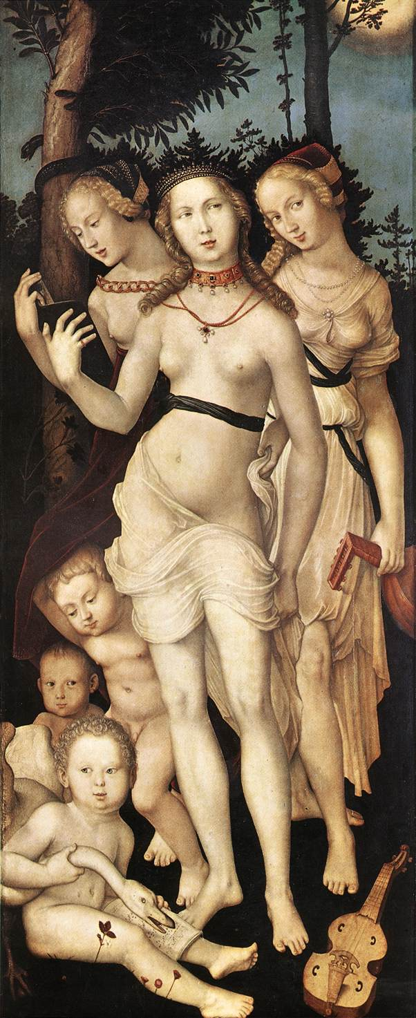 The Three Graces 1540 | Grien Hans Baldung | Oil Painting