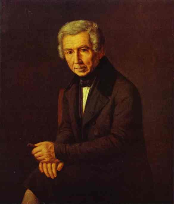 Portrait Of Alexey Venetsianov 1840s | Grigoriy Soroka | Oil Painting