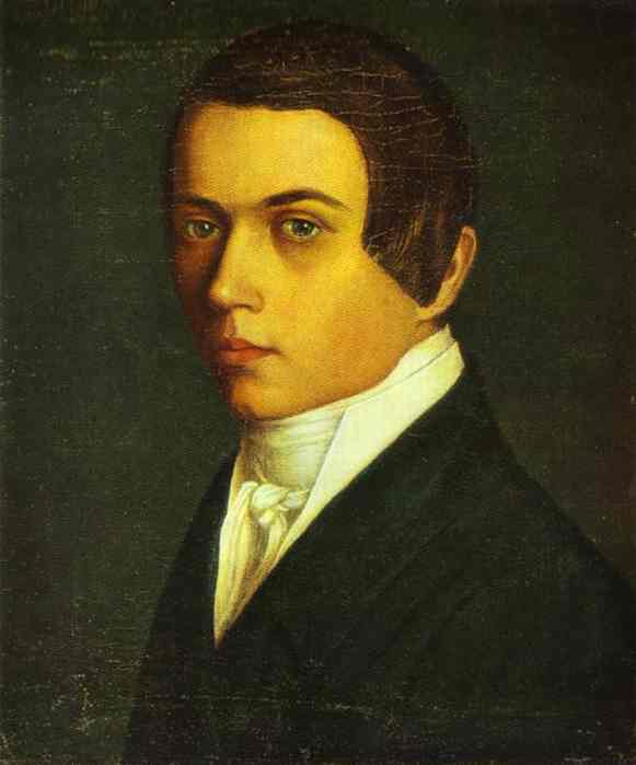 Self Portrait 1840s | Grigoriy Soroka | Oil Painting