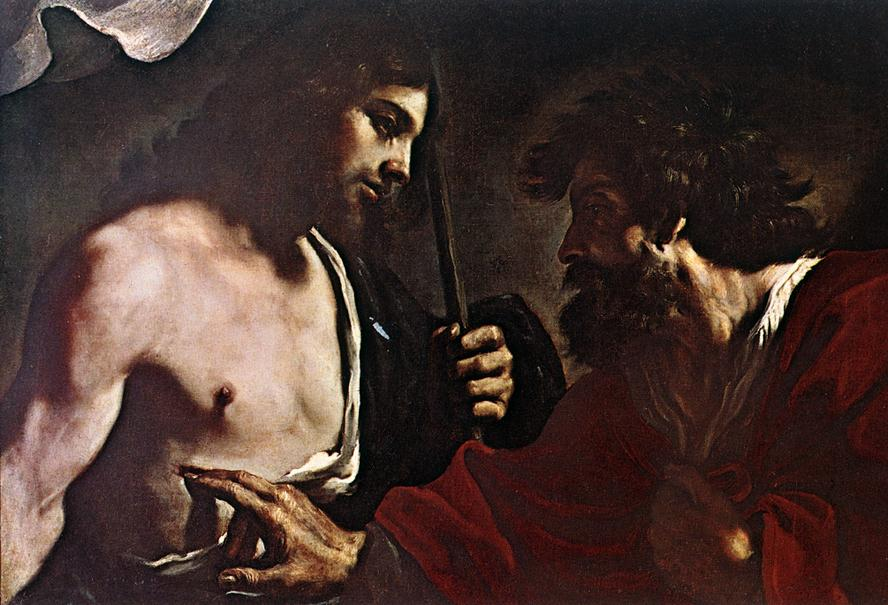 Doubting Thomas | Guercino | Oil Painting